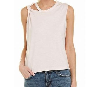 Current / Elliot Cutout Tank Cami Cotton Top